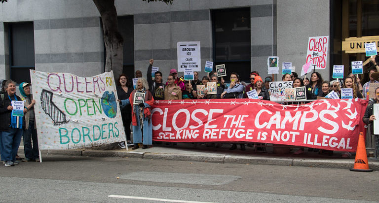 Queer Close the Camps DEMO
